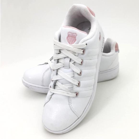 Pink Leather Sneaker Shoe | Poshmark